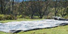Best layed tarps...